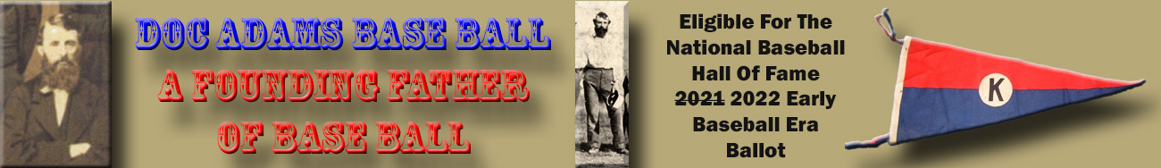 Doc Adams Base Ball (Official)